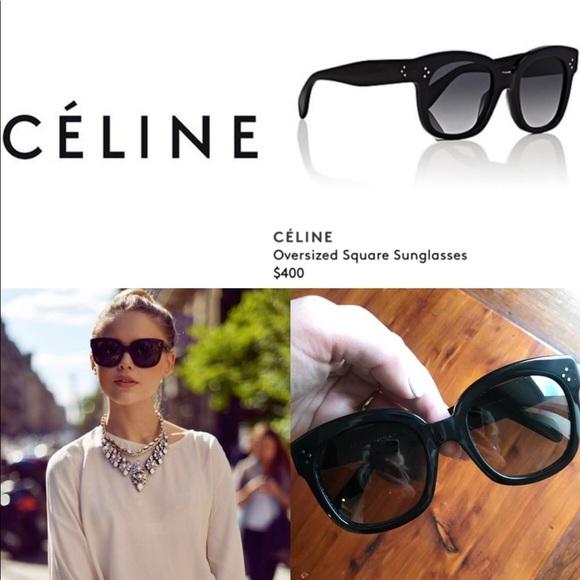 5d24acc6134c Celine Accessories - CELINE New Audrey Sunglasses CL 41805